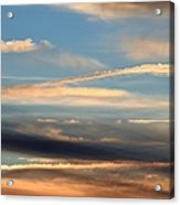 Clouds Of Natural Art Acrylic Print