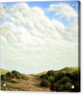 Clouds Of Spring Acrylic Print