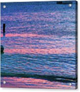Clouds On The Horizon Acrylic Print