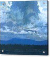 Clouds On The Kootenai Acrylic Print