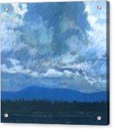 Clouds On The Kootenai Acrylic Print