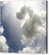 Clouds On The Sky Acrylic Print