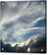 Clouds One Acrylic Print