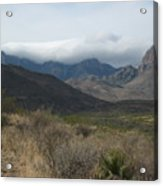 Clouds Over Big Bend Acrylic Print
