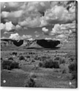 Clouds Over Cedar Mesa Acrylic Print