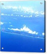 Clouds Over Cuba Acrylic Print