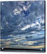 Clouds Over English Bay From Sunset Beach Vancouver Acrylic Print