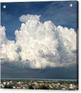 Clouds Over Florida Acrylic Print
