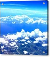 Clouds Over Florida Acrylic Print