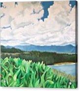 Clouds Over Kauai Acrylic Print
