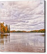Clouds Over Lake Acrylic Print