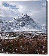 Clouds Over Mountains, Glencoe, Scotland Acrylic Print