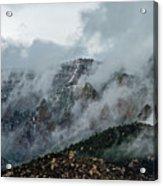 Clouds Over Sandia Acrylic Print