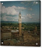 Clouds Over Siena Acrylic Print