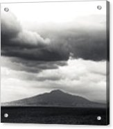 Clouds Over The Bay Of Naples Acrylic Print