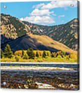Clouds Over The Teton Foothills Acrylic Print