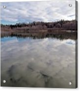 Clouds Reflect Acrylic Print