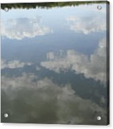 Clouds Reflection Acrylic Print