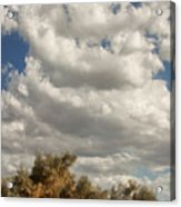 Clouds Rising Palm Springs Acrylic Print