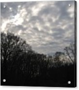 Clouds Roll Over The Sky Acrylic Print