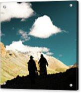 Clouds Way Kailas Kora Himalayas Tibet Yantra.lv Acrylic Print