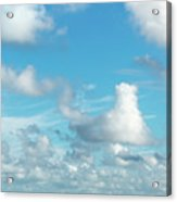 Cloudscape A Fine Day Acrylic Print
