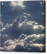 Cloudscape And River Acrylic Print