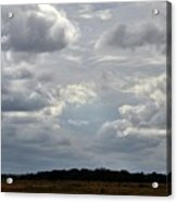 Cloudy Day At Dinenr Island Ranch Acrylic Print