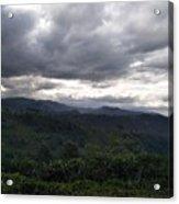 Cloudy Environment  Acrylic Print