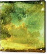 Cloudy Glass Acrylic Print