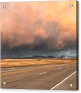 Cloudy Highway Acrylic Print