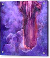 Cloudy Lavender Acrylic Print
