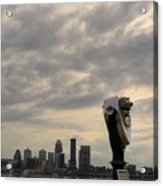 Cloudy Louisville Acrylic Print