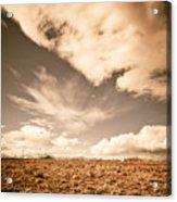 Cloudy Plain Acrylic Print