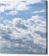 Cloudy Acrylic Print
