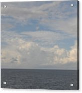 Cloudy Skys  Acrylic Print
