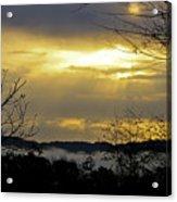 Cloudy Sunrise 1 Acrylic Print