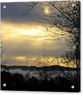Cloudy Sunrise 2 Acrylic Print