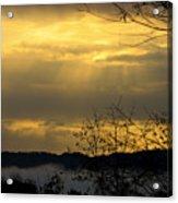 Cloudy Sunrise 3 Acrylic Print