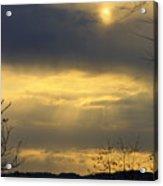 Cloudy Sunrise 4 Acrylic Print