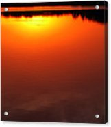 Cloudy Sunset Acrylic Print