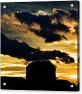 Cloudy Sunset Acrylic Print