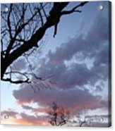 Cloudy Sunset Two Acrylic Print