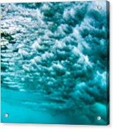 Cloudy Water Acrylic Print