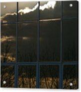 Cloudy Windows Acrylic Print
