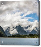 Cloudy With A Chance Of Beautiful Photo Acrylic Print