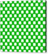 Clover Titled  - Pattern Acrylic Print