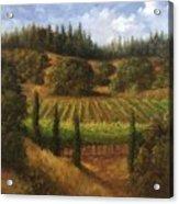 Cloverdale Vines Acrylic Print