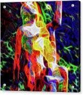 10780 Clown 3 - My Best Friend Neon Acrylic Print
