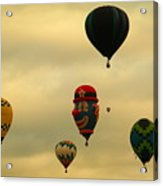 Clown Balloon Acrylic Print